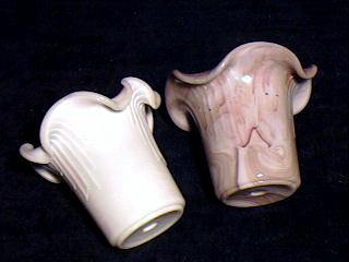 Hand Fluted pots